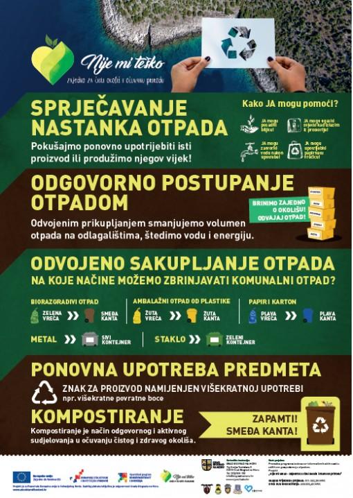 Javne tribine o održivom gospodarenju otpadom i sprječavanju nastanka otpada