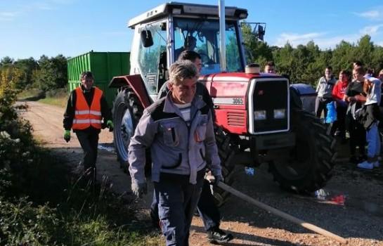 Zajedničkim snagama očišćen predio Gaj u Polači