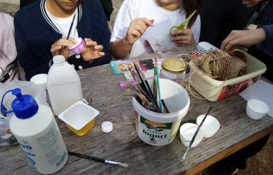 U školama i vrtićima održana natjecanja u izradi kreativnih stvari od prethodno prikupljenog otpada.